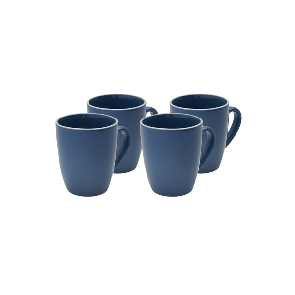 Potter's Wheel Midnight Mug Set of 4