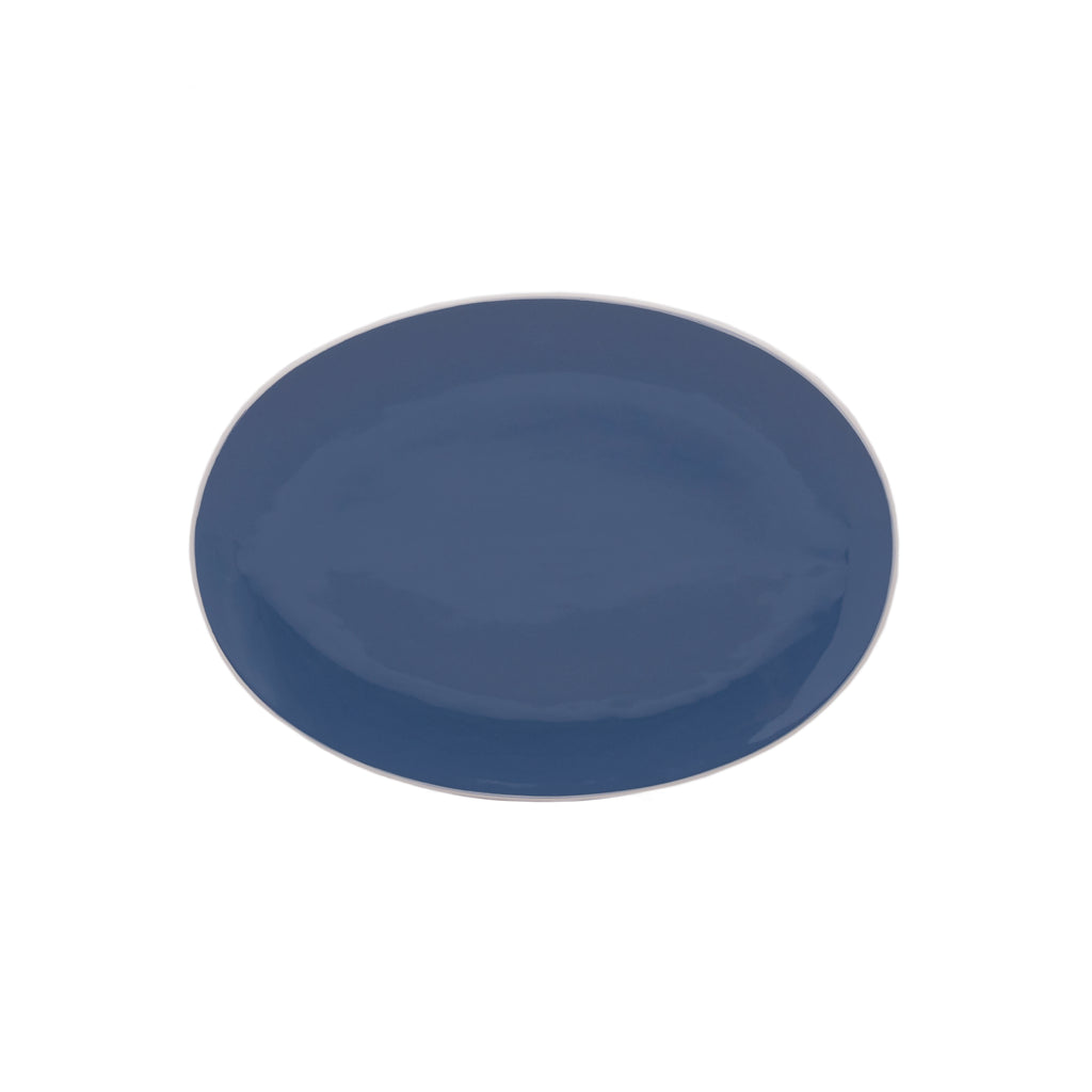 Potter's Wheel Midnight Oval Platter