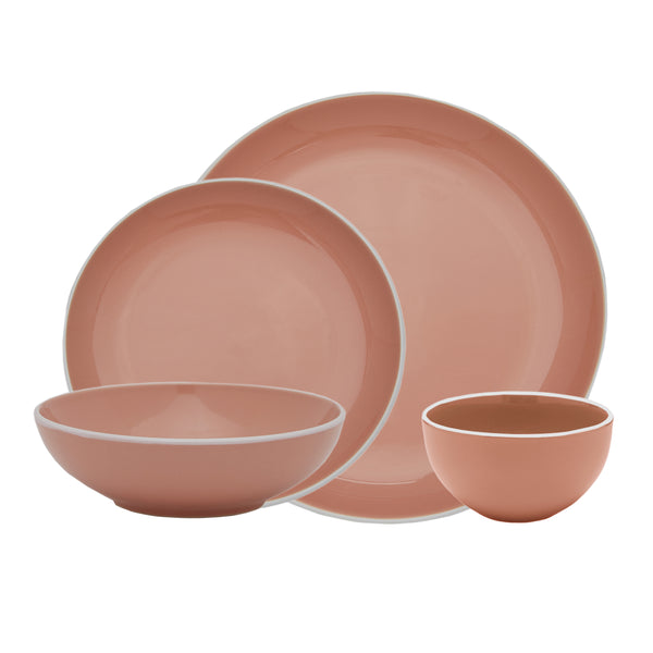 Potter's Wheel Rosé, 16 Piece Set