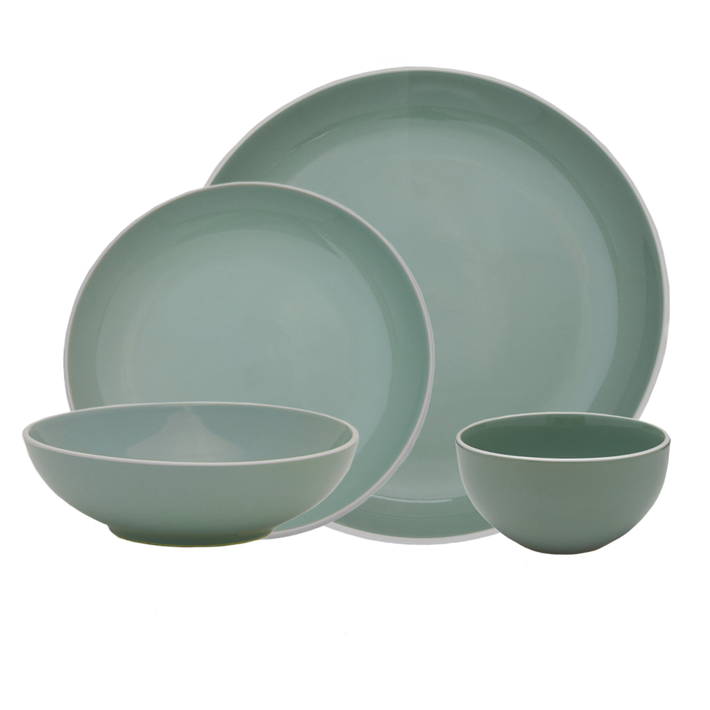 Potter's Wheel Sage 16 Piece Set