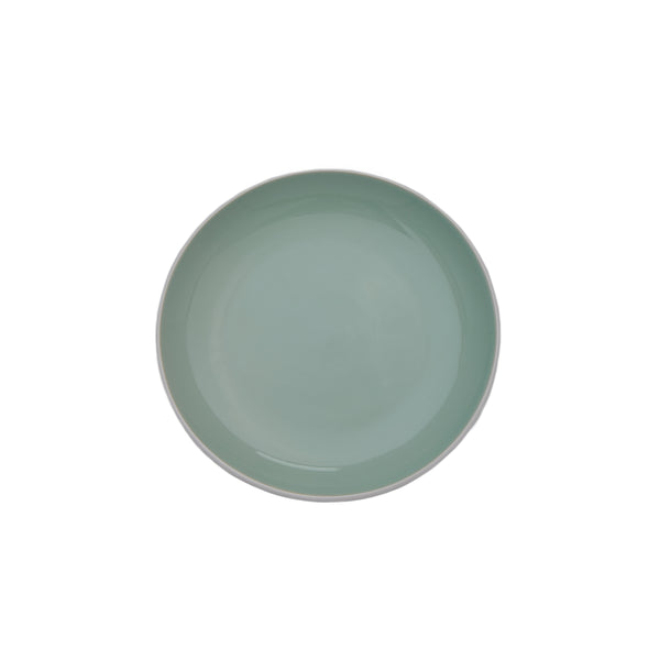 Potter's Wheel Sage Salad Plate