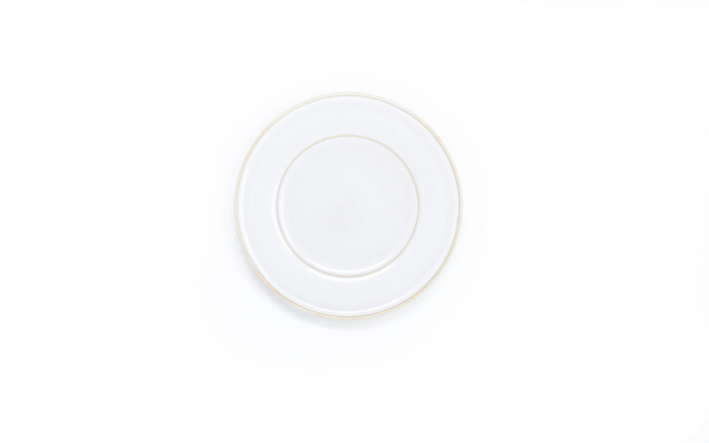 Oak Hall White Dessert Plate