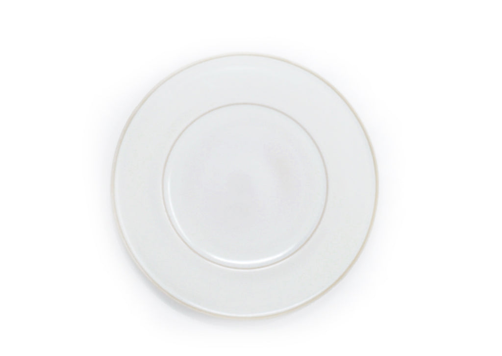Oak Hall White Dinner Plate
