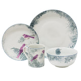 Birds of a Feather 16 Piece Set Purple