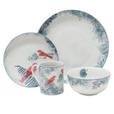 Birds of a Feather 16 Piece Set Red