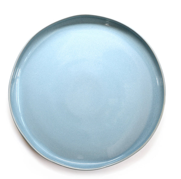 Oak Hall Robin's Egg Blue Round Platter
