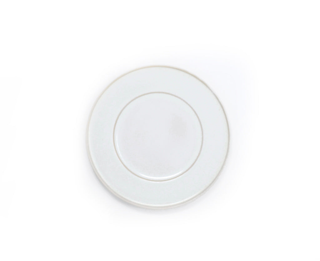 Oak Hall White Salad Plate