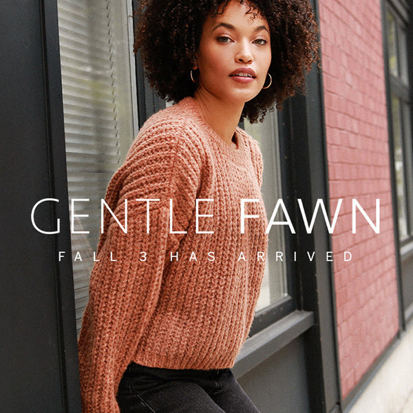 Fashionably Cozy For Fall - Gentle Fawn