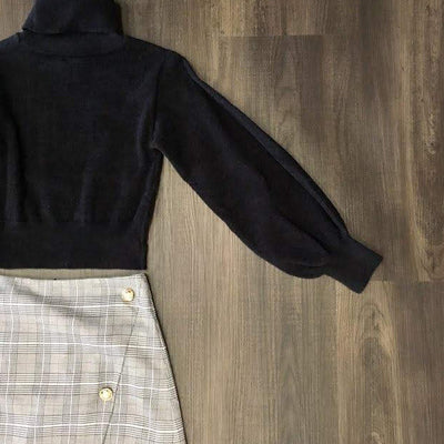 Tia Crop Sweater & Dionne Skort - maccs the label