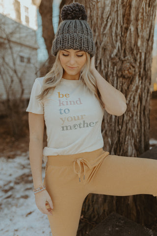 Be Kind Tee + Cypress Joggers
