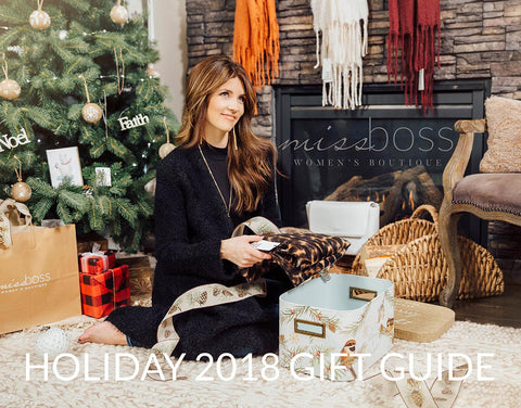 Miss Boss Holiday Gift Guide 2018