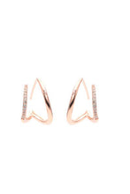 Perspective Double Wrap Earrings