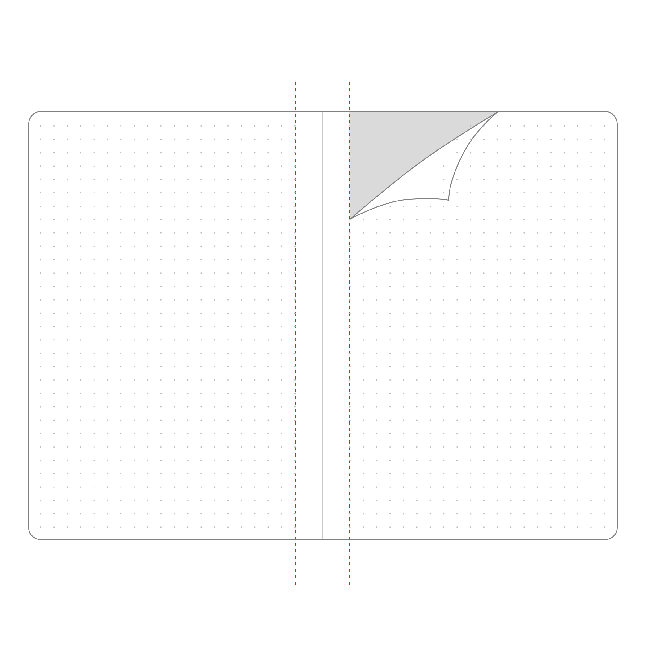 32 PAGE PERFORATED NOTEBOOK INSERT A6