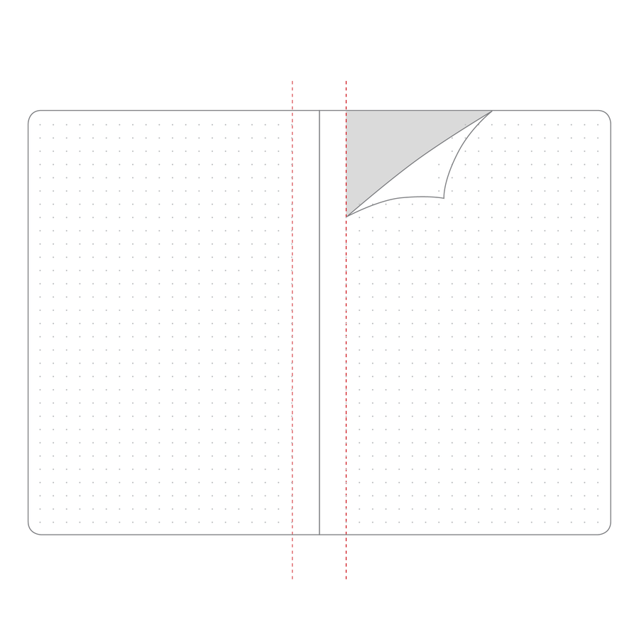 32 PAGE PERFORATED NOTEBOOK INSERT | A5 | LARGE