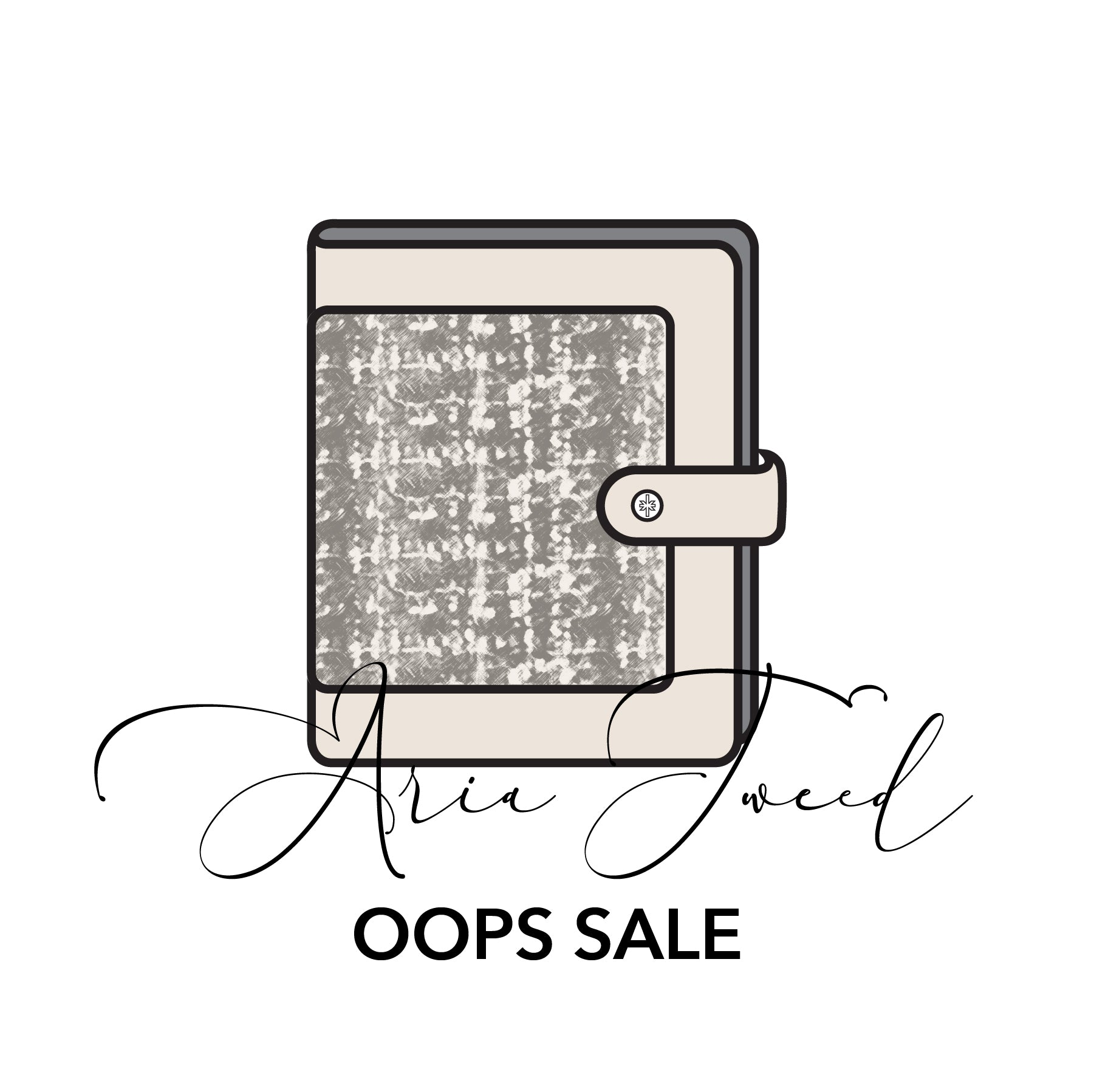 OOPS SALE ARIA TWEED