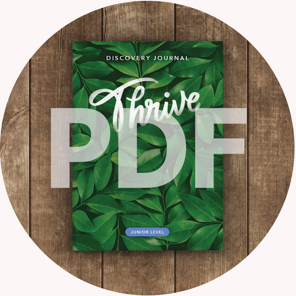 Thrive Discovery Journal: Junior PDF (2018)