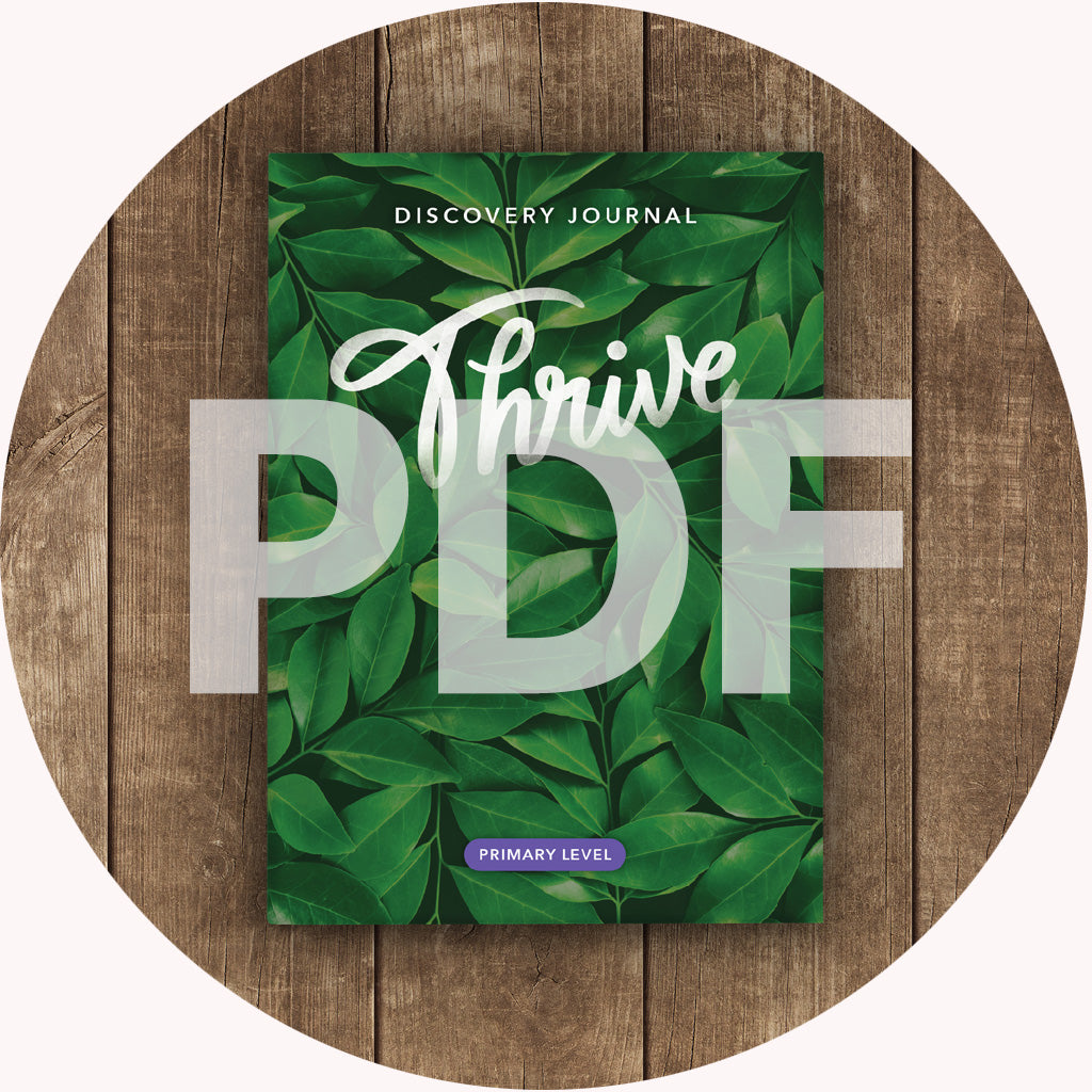 Thrive Discovery Journal: Primary PDF (2018)