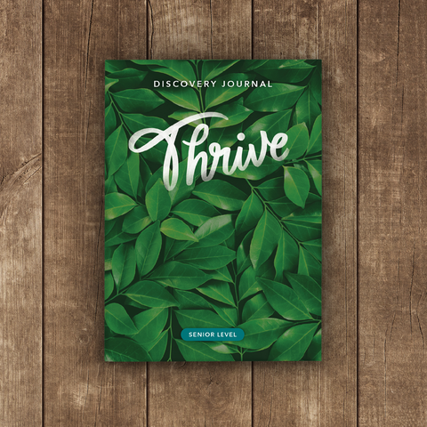 Thrive Discovery Journal: Senior (2018)