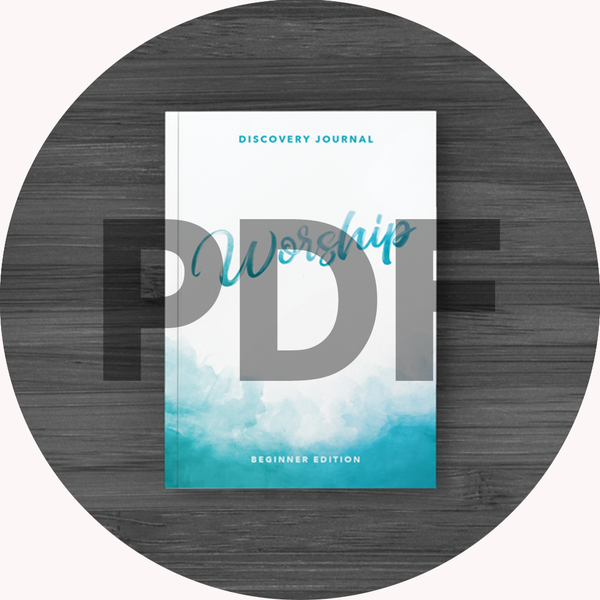 Worship Discovery Journal: Beginner PDF