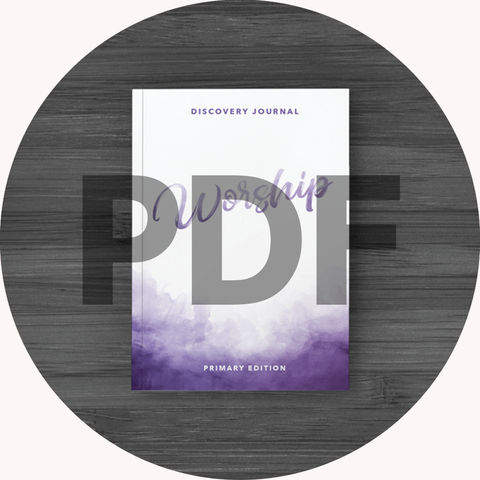 Worship Discovery Journal: Primary PDF