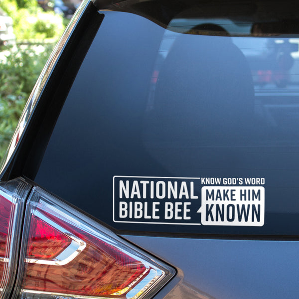 Make Him Known Vinyl Decal