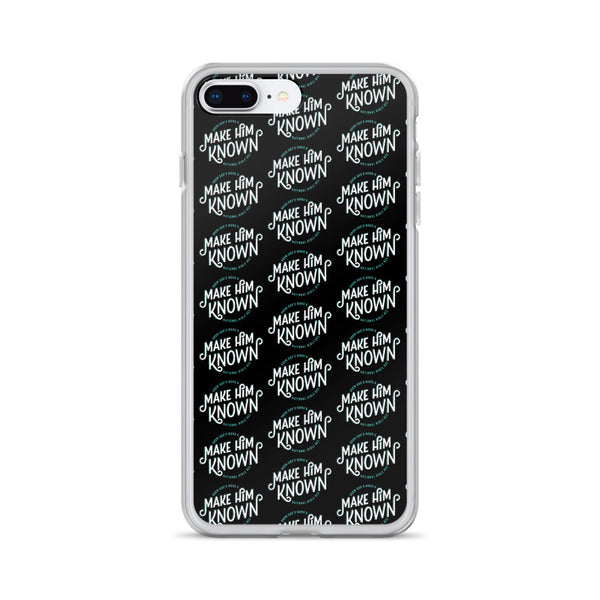 Make Him Known Repeated iPhone Case