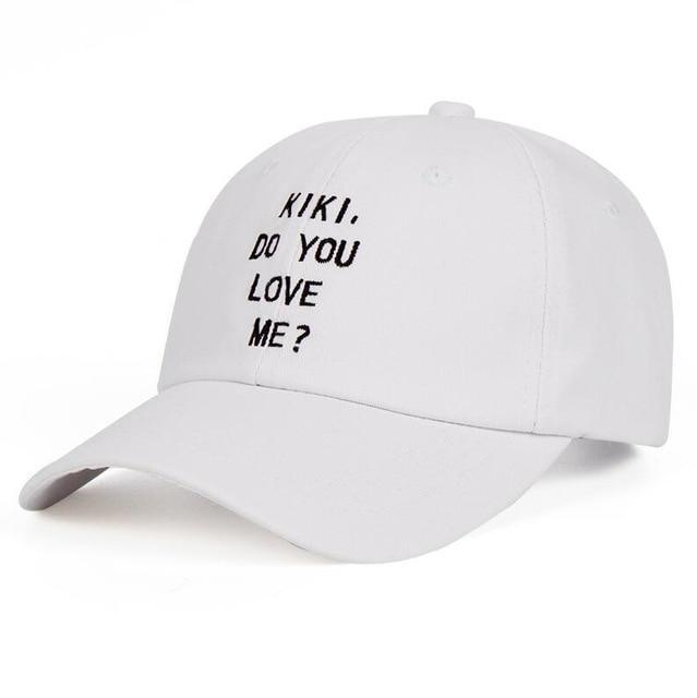 EXTAZ Cap Blanc KIKI DO YOU LOVE ME - Cap
