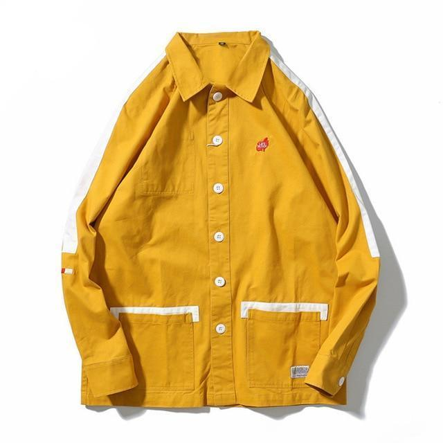 EXTAZ Jacket Jaune / M LIFE BLOOD - Jacket