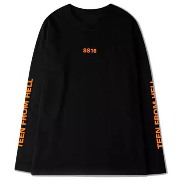 Extaz Long Sleeves Black / L TEEN FROM HELL - Long Sleeves