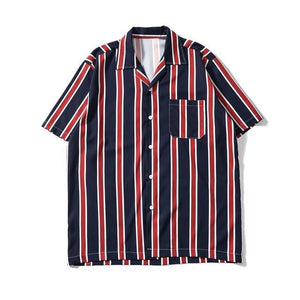 EXTAZ Shirt Rouge / XS STRIPED - Shirt