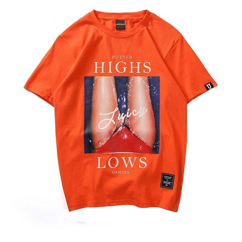 EXTAZ Tees Orange / XS JUICE - Tees