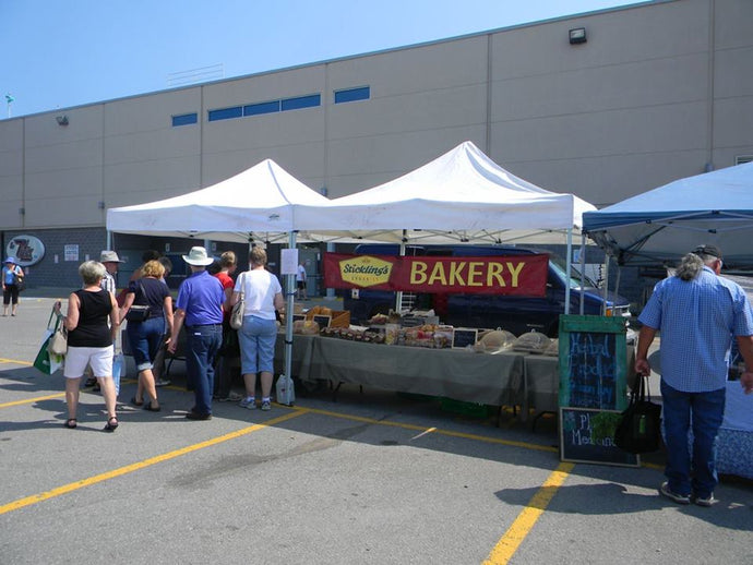 Farmers' Markets Stickling's Bakery is attending Nov. & Dec. 2020