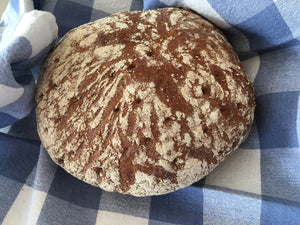 Sourdough Mixed Rye Bread