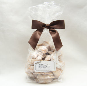 Vanilla Crescent Cookies - Available seasonal only