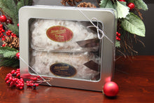 Silver Holiday Gift Tin — Stickling's Bakery
