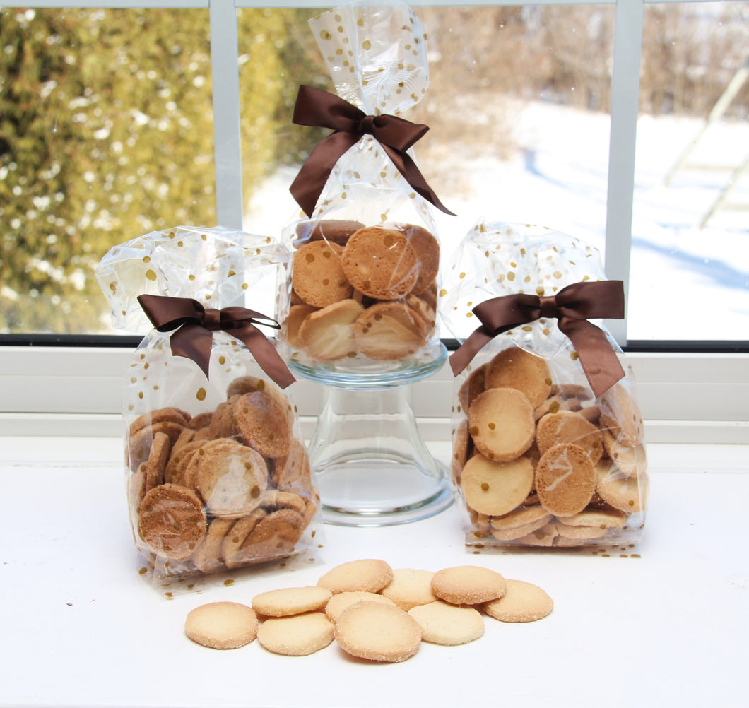 Handmade Shortbread Cookies Heidesand 3 Bag Saver