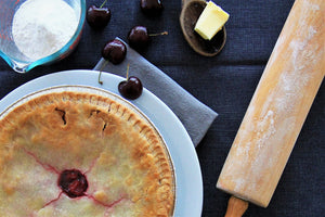 New! Gluten Free Cherry Pie - Tarte Aux Cerises Sans Gluten - Available in stores only, not online.