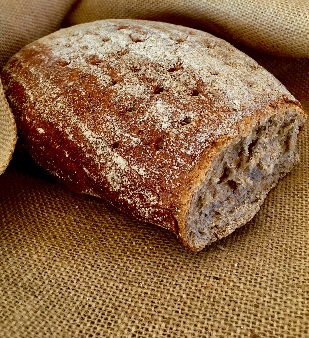 Sourdough Dark Rye Bread