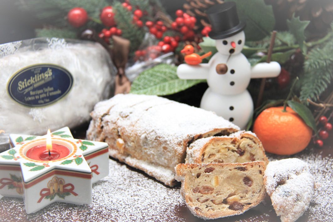 Marzipan Stollen - Available seasonal only