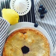 New! Gluten Free Blueberry Pie - Tarte Aux Myrtilles Sans Gluten - Available in stores only, not online