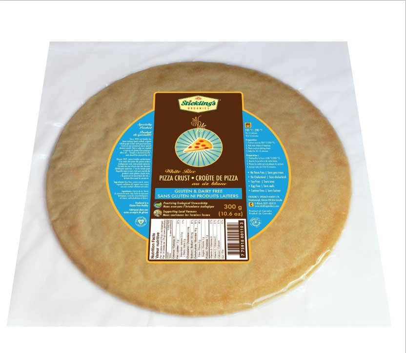 Gluten Free Pizza Crust - 3 per Case