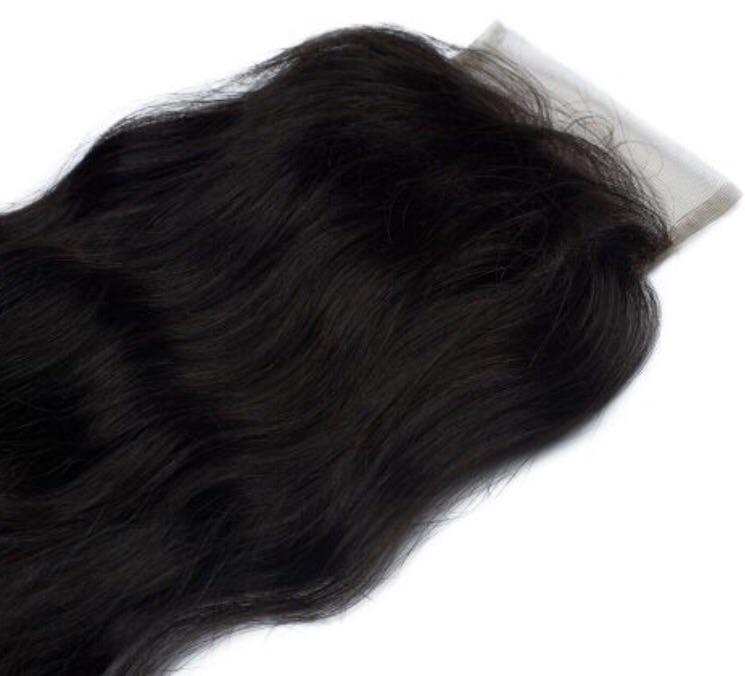 Indian Wavy Closure Raw Indian Hair Sassy Gal Sgllc