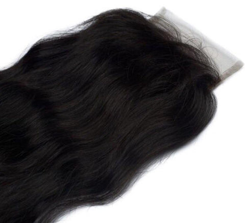 Indian Wavy Closure - Sassy Gal - Raw Unprocessed Hair Extensions