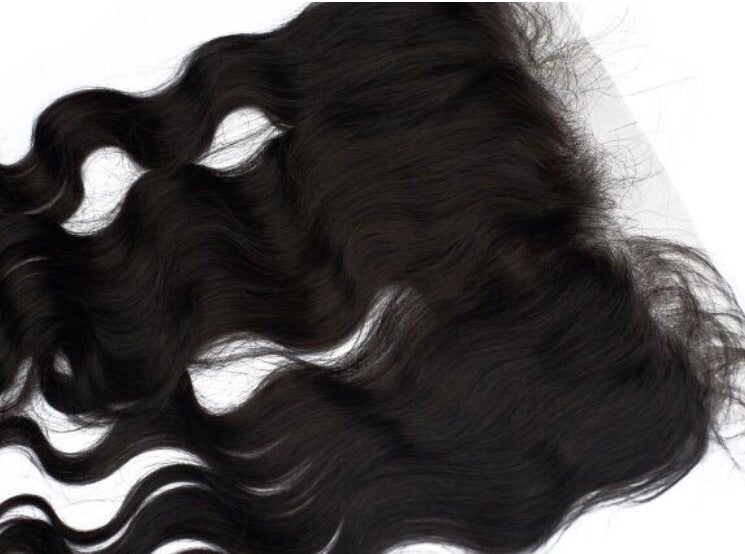Indian Wavy Frontal Raw Indian Virgin Hair Extensions Sassy Gal