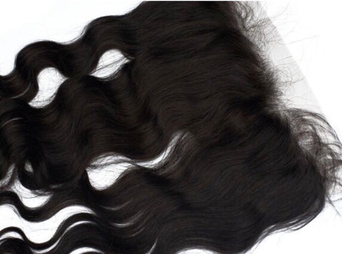 Indian Wavy Frontal - Sassy Gal - Raw Unprocessed Hair Extensions