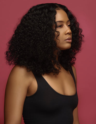 Indian Deep Curly - Sassy Gal - Raw Unprocessed Hair Extensions