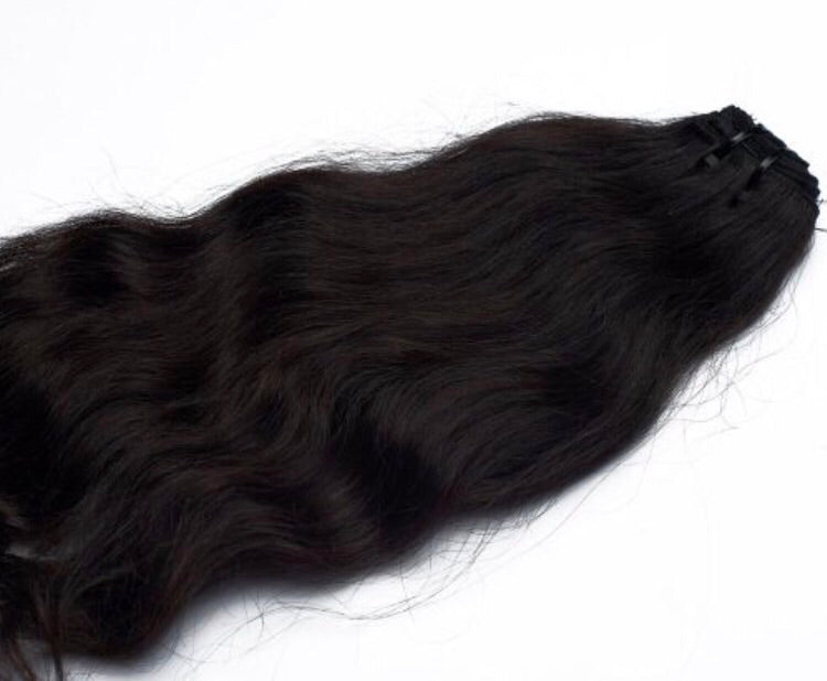 Raw Temple Indian Wavy Raw Hair Extensions Sassy Gal Sgllc