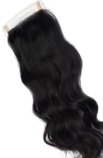 Indian Natural Curly/Wavy Closure - Sassy Gal - Raw Unprocessed Hair Extensions