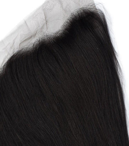 Indian Straight Frontal - Sassy Gal - Raw Unprocessed Hair Extensions
