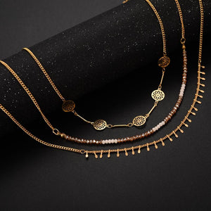 The Metal Disc Chain Choker
